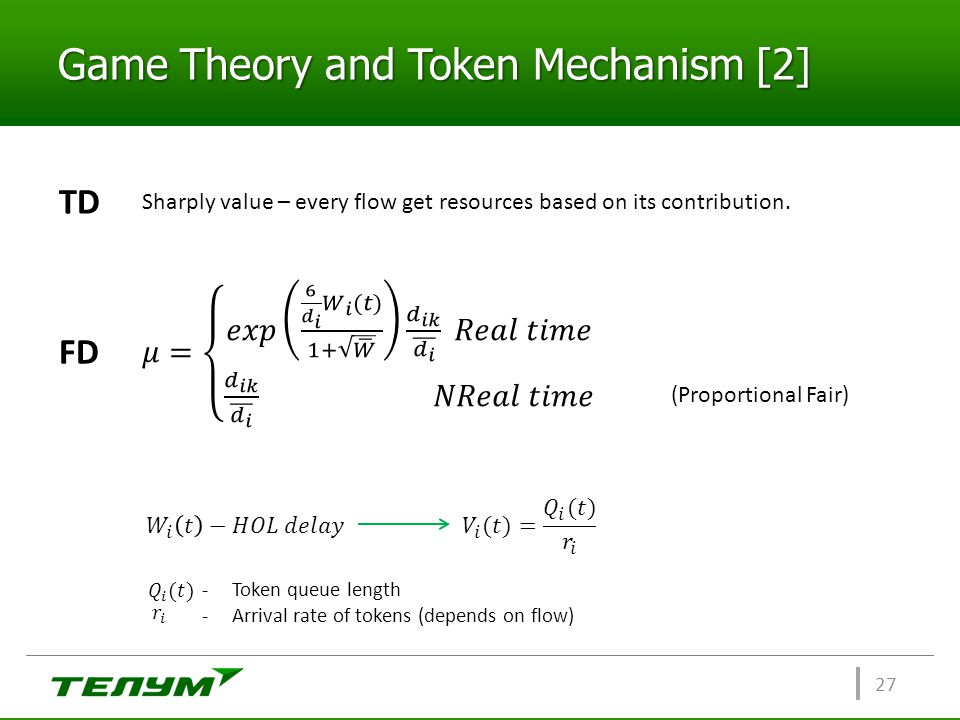 Game Theory and Token Mechanism [2]